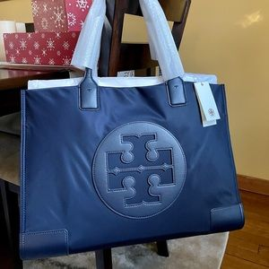 Tory Burch Ella Nylon Large Tote